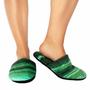 Malachite Printed Slippers