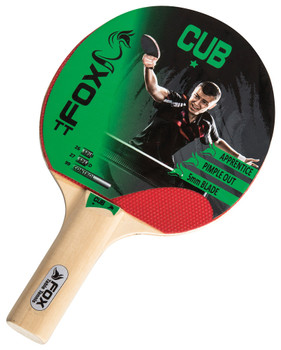 Fox TT Cub 1 Star Table Tennis Bat