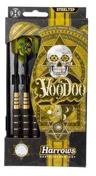 Harrows Voodoo Brass Steeltip Darts