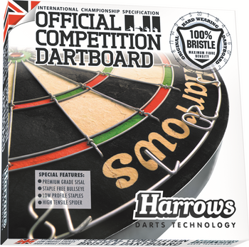 Harrows Official Competition Darts Board