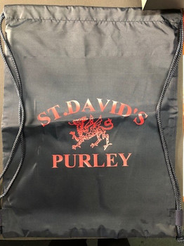 St Davids Navy Swim Bag