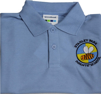 Stanley Park Infants Light Blue Polo Shirt