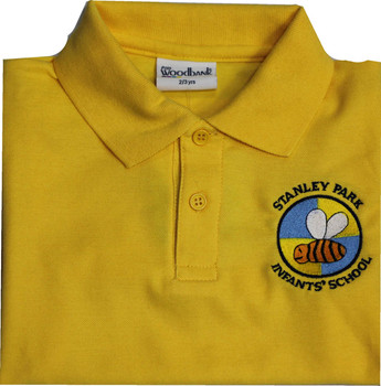 Stanley Park Infants Gold Polo Shirt