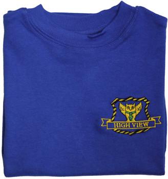 High View Blue PE T-Shirt