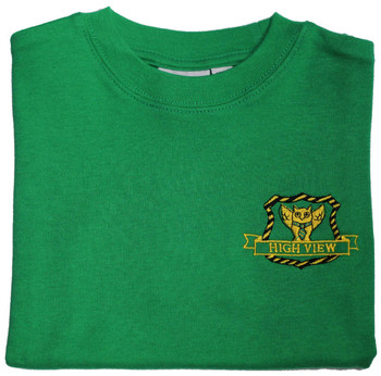 High View Green PE T-Shirt
