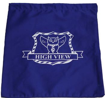 High View Blue PE Bag