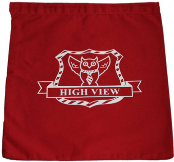 High View Red PE Bag