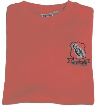 Sutton Grammar Red PE T-Shirt