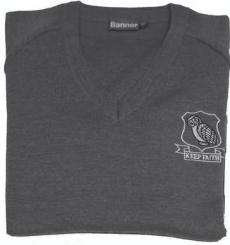 Sutton Grammar Grey Pullover
