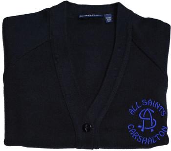 All Saints Navy Cardigan