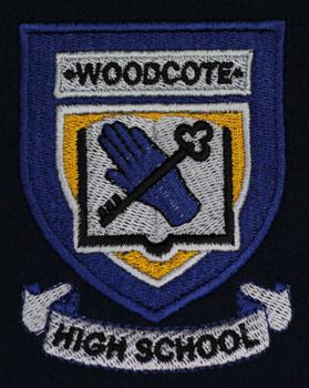 Woodcote High School Iron On Blazer Badge