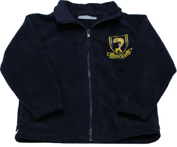Laleham Lea Navy Fleece