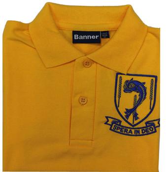 Laleham Lea Gold Polo Shirt