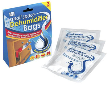 Small Space Dehumidifier Bags 3 Pack