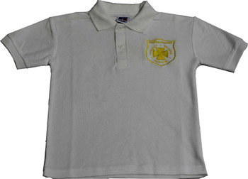 Keston Primary White Polo Shirt