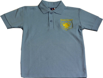 Keston Primary Blue Polo Shirt