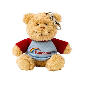 Rainbows Clip Teddy