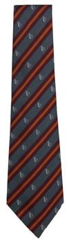 Sutton Grammar Orange School Tie