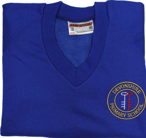 Devonshire V-Neck Sweatshirt