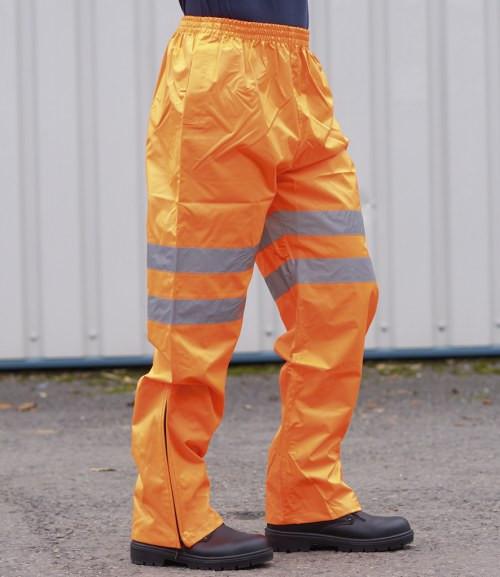 Portwest Hi-Vis Traffic Trousers GO/RT (PW022)