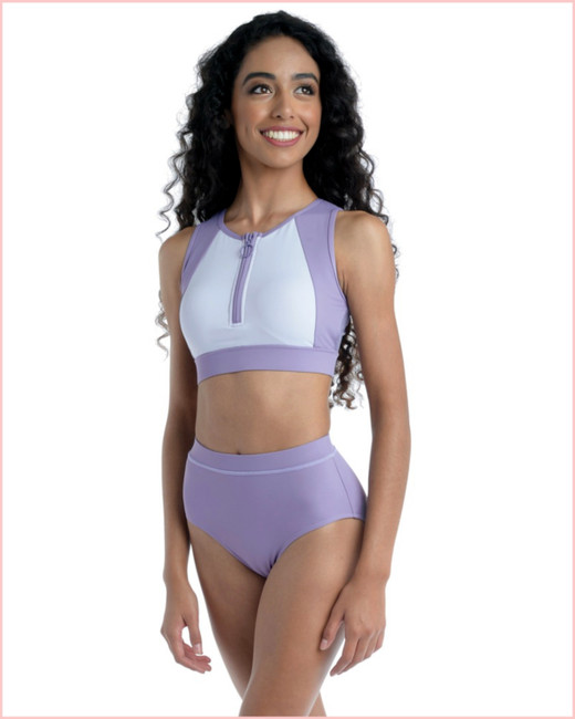Dance Brief (Matches Tonal Top) - Purple