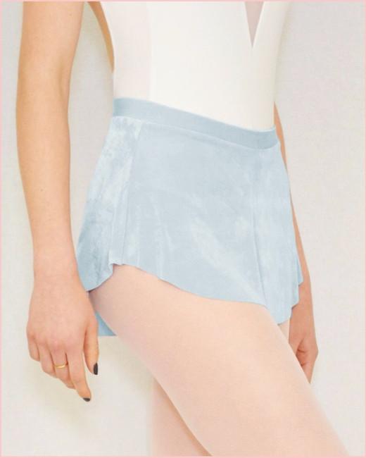 Bullet Pointe Skirt - Light Blue