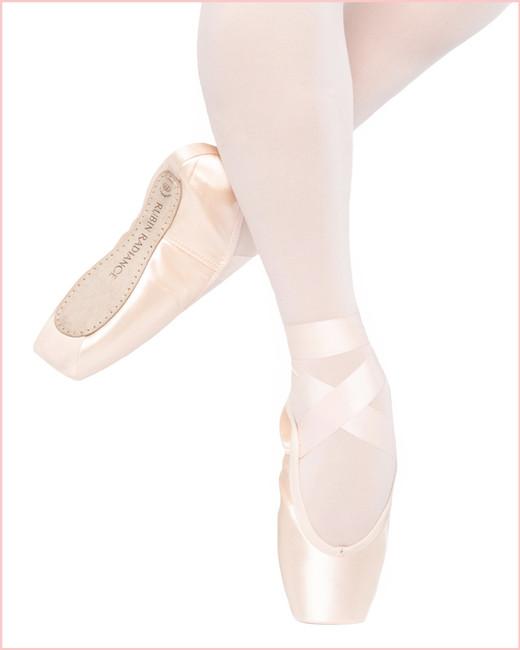 Rubin Radiance Pointe Shoe 3/4 Shank