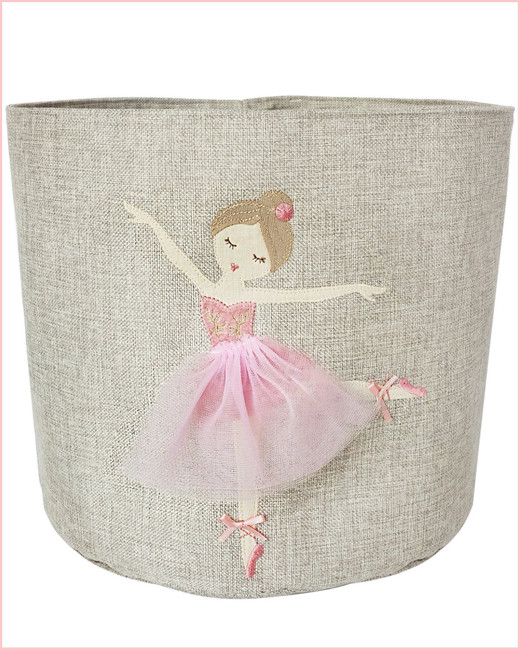 Ballerina Toy Bin