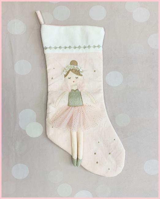 Sugar Plum Fairy Stocking