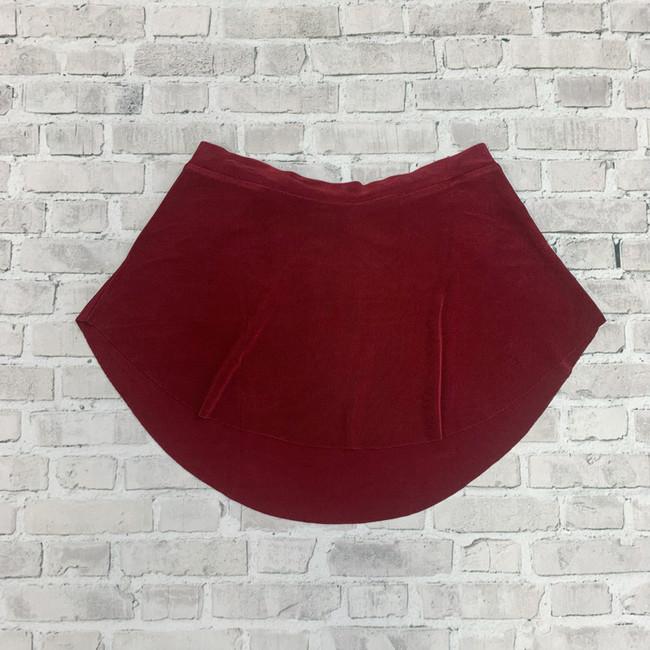 Bullet Pointe Skirt - Cranberry