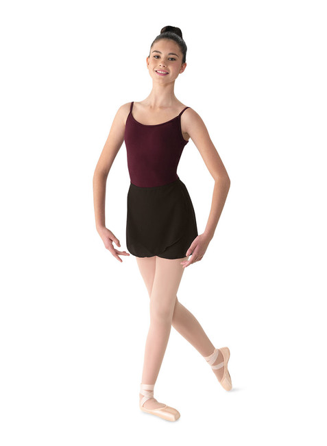 Mirella Wrap Skirt - Extra Width - Black