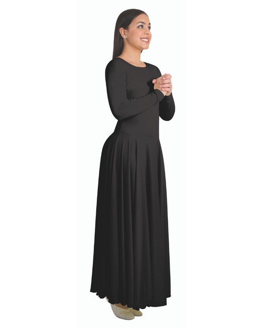 Long Sleeve Praise Dance Dress