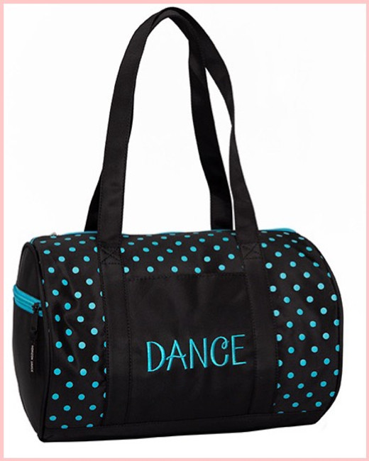 Dots Duffle - Teal