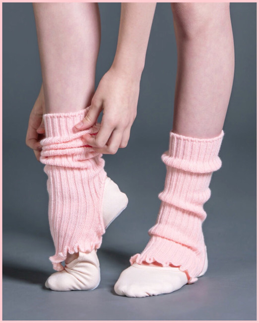 "Girls 14"" Legwarmers - Pink"