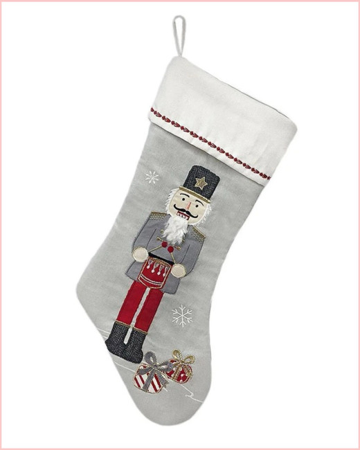 Nutcracker Christmas Stocking