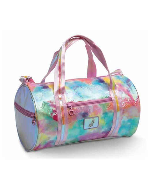 Pastel Clouds & Hearts Duffel