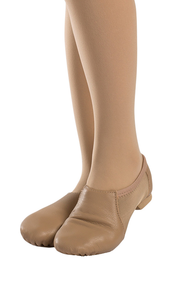 Low Profile Jazz Shoe w/Neoprene JZ76L - Caramel