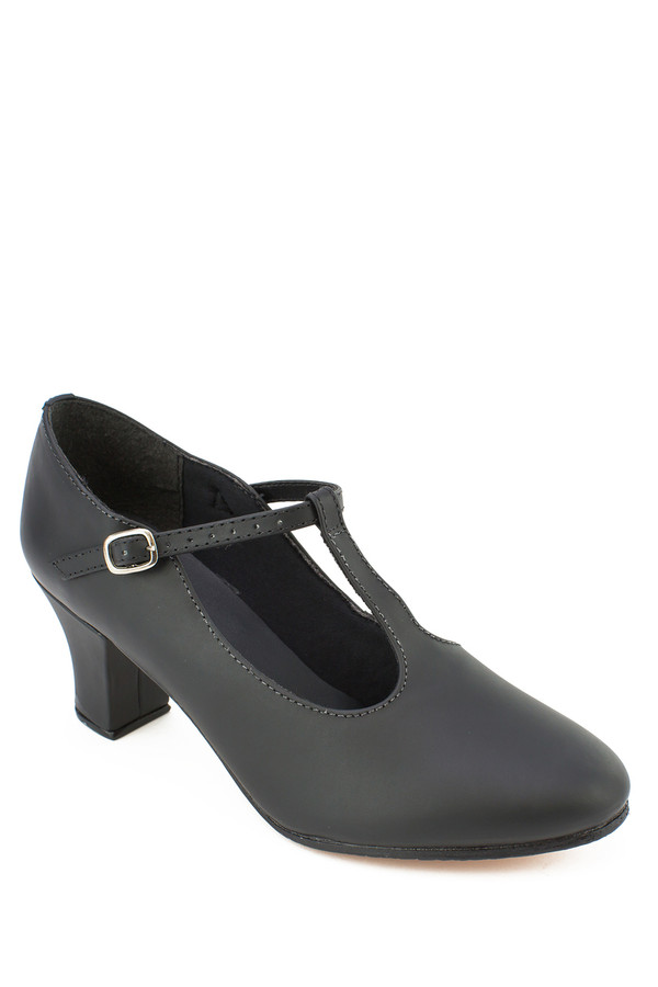 """T-Strap Character Shoe with 2"""" Heel"""
