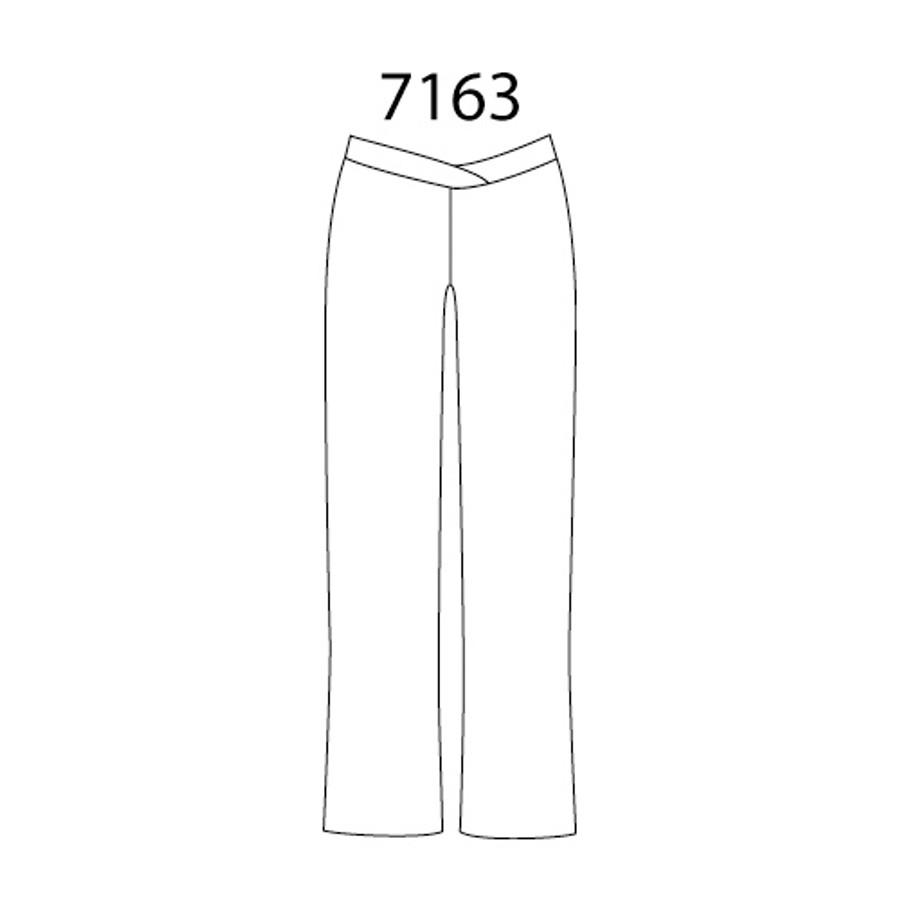 V-Waist Jazz Pants in DriLine