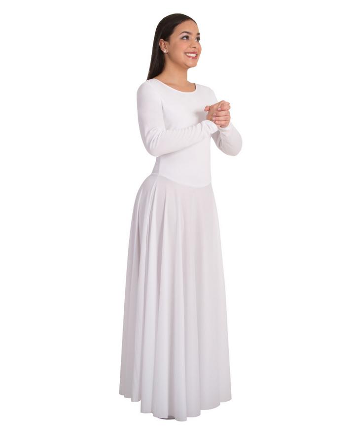 Long Sleeve Praise Dance Dress