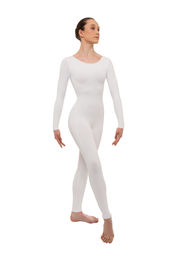 Long Sleeve Unitard - Plus