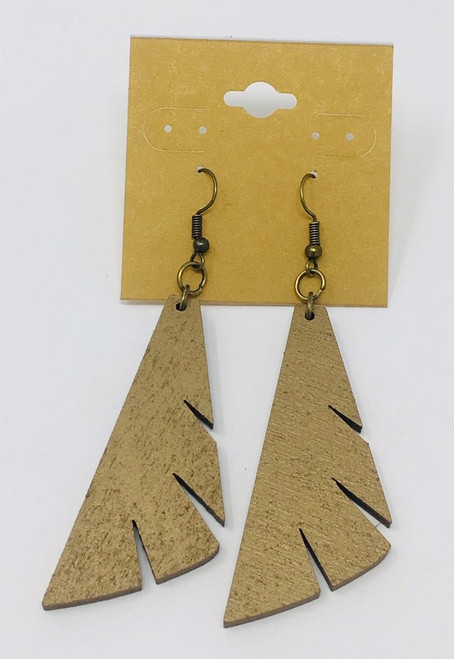 Half Feather  Chmpgn Earring