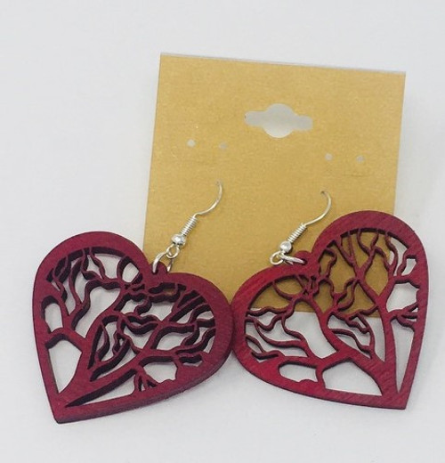 Heart Tree Red