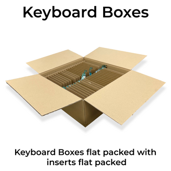 Keyboard boxes - protective packaging