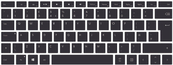 Keyboard printing for Microsoft Surface pro 4