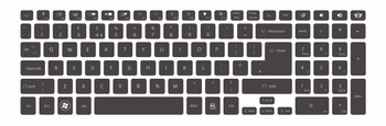 Keyboard printing for Easynote LV44HC