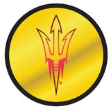 Arizona State Sun Devils Hitch Cover (DOMED MIR ASU ROUND HITCH_26693)