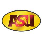 Arizona State Sun Devils Hitch Cover (DOMED MIR WINE/YEL ASU HITCH_26610)