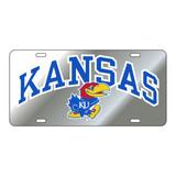Kansas Tag (SILVER REFL KANSAS JAYHAWK TAG (19011))