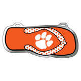 Clemson Tigers Tag (Acrylic with Vinyl Logo (14150))